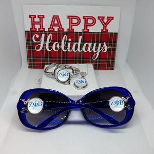 Zeta Phi Beta Sunglasses Set